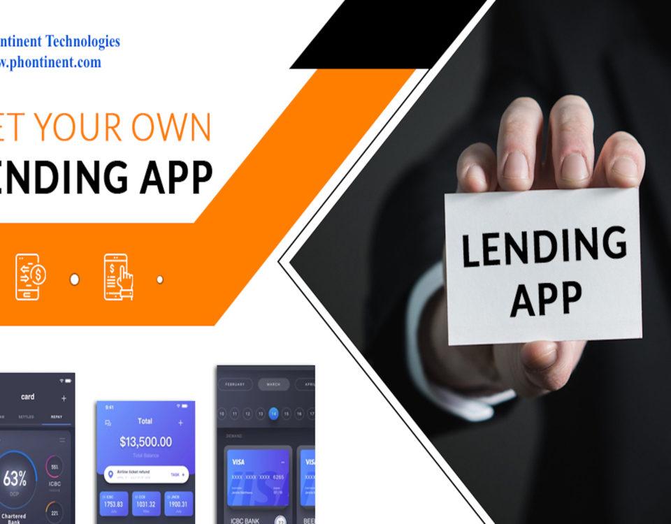 Loan lending mobile app development