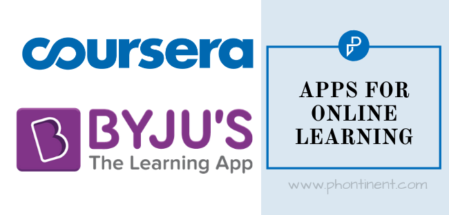 Crisis Caused Due To Coronavirus, E-learning mobile app
