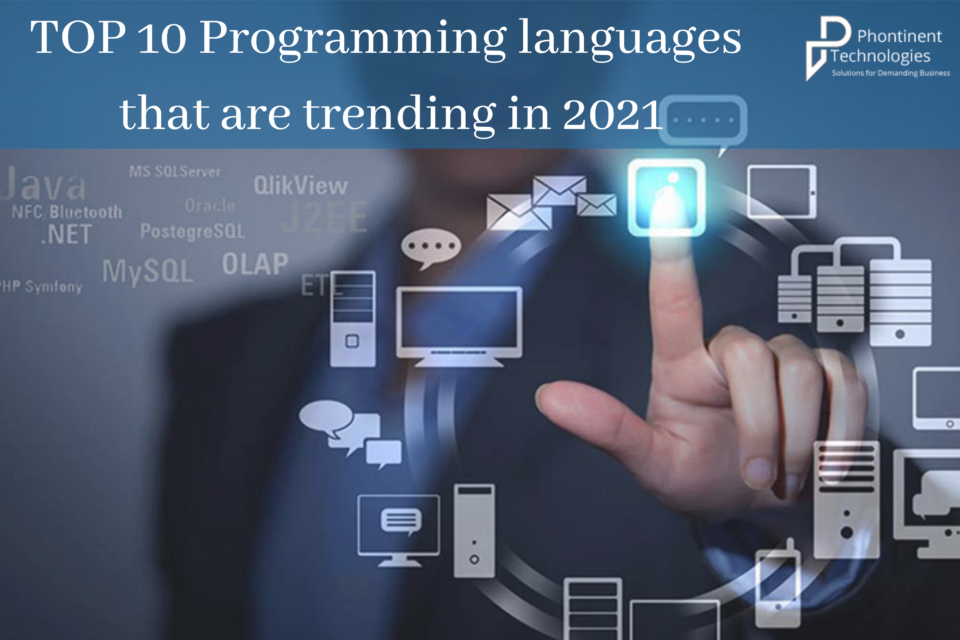 TOP 10 Programming languages that are trending in 2021