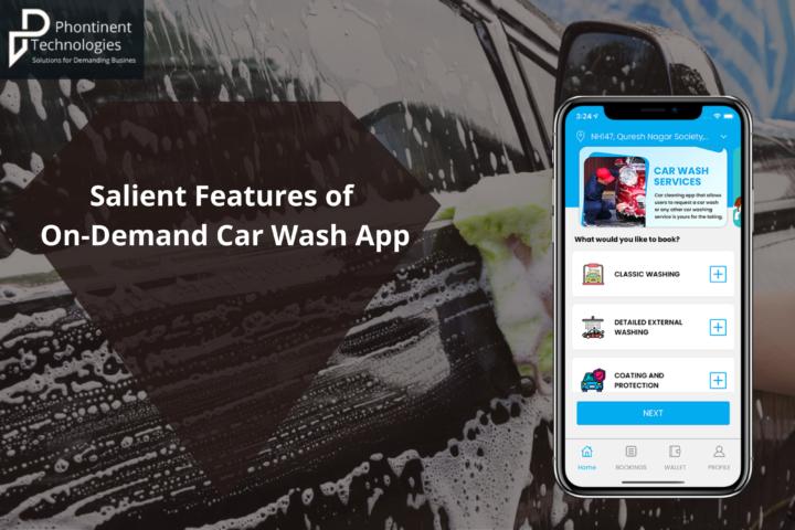 car wash app development, on demand car wash app, car wash app development company